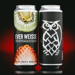 Ever Weisse: Mixed Fermentation Sour with Strawberries & Hibiscus