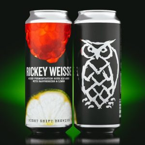 Rickey Weisse: Mixed Fermentation Sour Ale with Raspberry & Lime