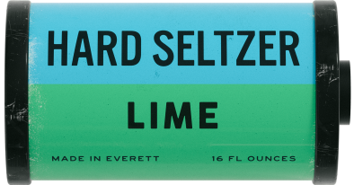 """In Development Series"" Lime Hard Seltzer"