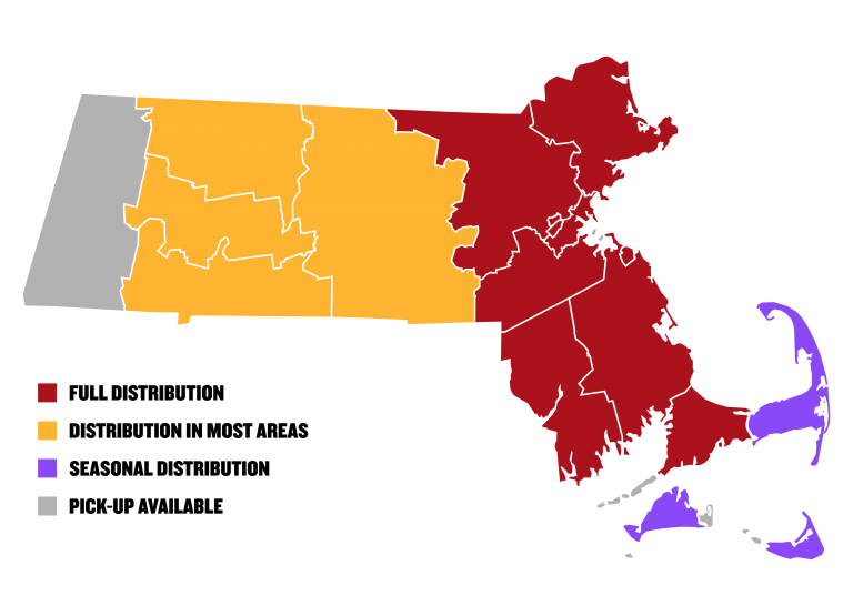 Night Shift Distribution Map