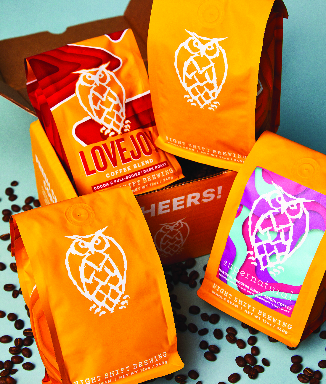 Night Shift Coffee - Roaster's Choice 4 Month Subscription