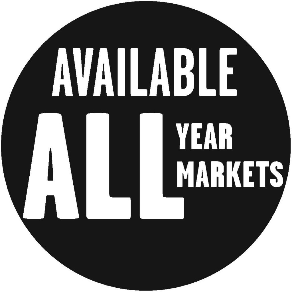 Available all year long, in all our markets (MA, NH, ME, CT, NY, PA)