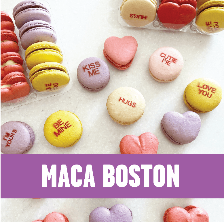 maca boston, handcrafted macarons for every occasion. Based in Somerville, MA