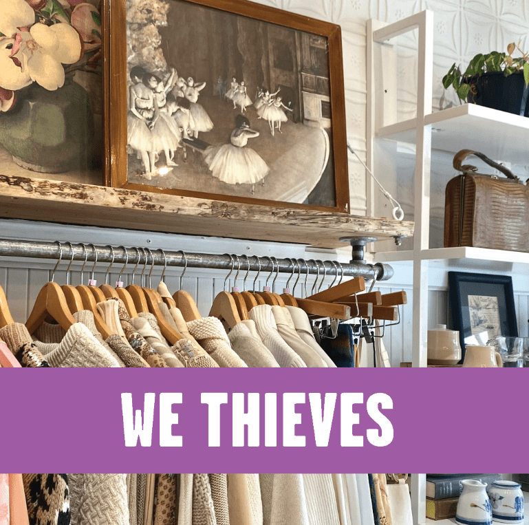 We Thieves, fashion and lifestyle boutique in Inman Square, Cambridge MA